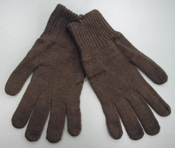 b6462e0c745 Rukavice pletené vojenské zimní